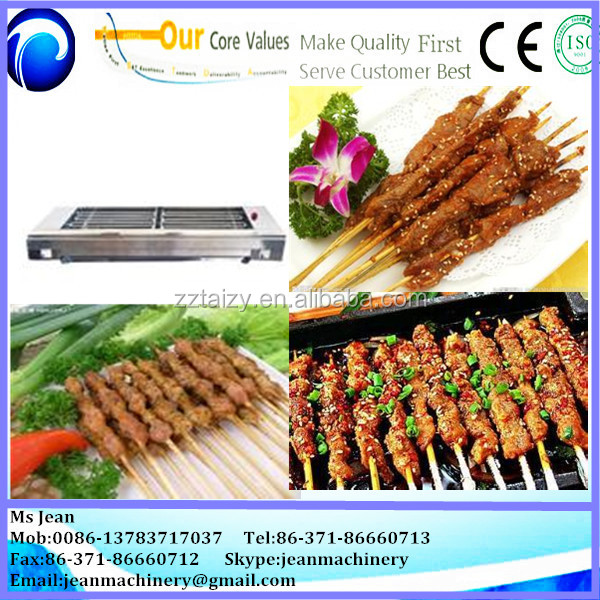 high efficiency shish kebab machine/ shish kebab making machine/ electric barbecue grill machine//0086-13683717037