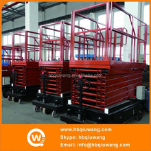 Human lifting scissor lift
