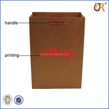 Paper Handle bag,Paper Bag Printing,Luxury Euro Paper Shopping Bag With Ribbon
