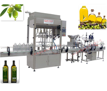 olive oil bottle filling machinery production line
