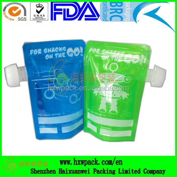 detergent spout pouch, liquid detergent stand up pouch , body shampoo spout packaging bag