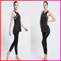 Comfortable Grisl Gym Tank Tops Vest Sportswear for Girl