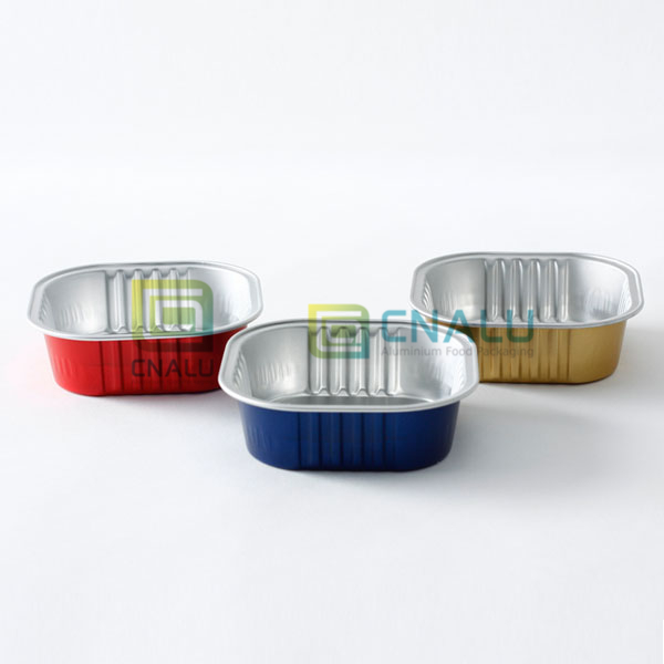 heat seal Aluminium Foil Wet Pet Food Container
