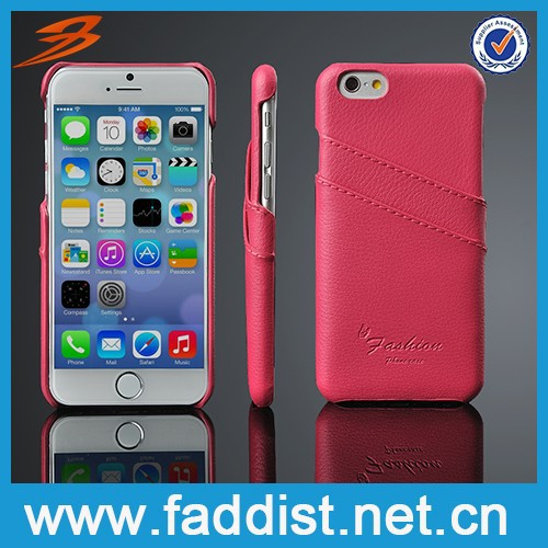 retro high quality real leather case for iphone 6 luxury case for iphone 6