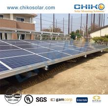 solar panel pole mounting ground fixing structure bracket system