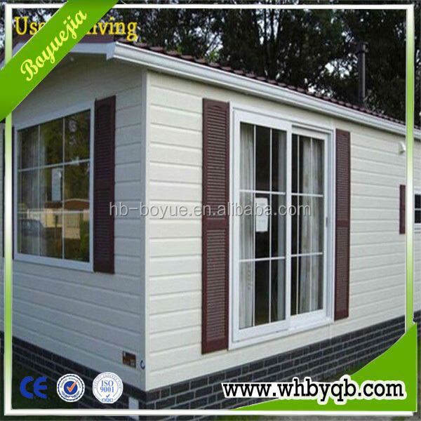 Cheap & fast construction eco-friendly one bedroom prefab house