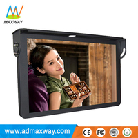andriod 3G 4G wifi 21.5 inch flip down car/bus TV monitor with 24V