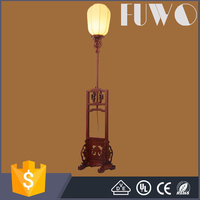 Study clear light hotel decorative antique indoor floor standing lamps