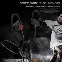 Ear hook headset stereo sport bluetooth headset manufacturer active noise cancelling headphones