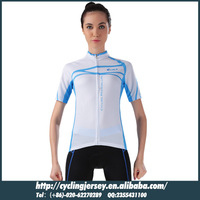 2014 Beautiful Design Cheji Cycling Clothing short sleeve jersey nomal shorts set wholesale Riding wear For Women CJ-BT-046S