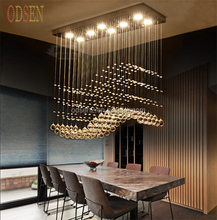 High Quality LED Crystal Luster Chandelier