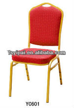 FOSHAN yipai aluminum steel dining furniture hotel banquet chair (YC601)