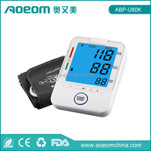 Automatic Backlight Wrist Blood Pressure Monitor Digital BP Meter with CE FDA