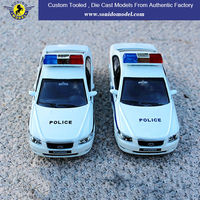 Scale Die Cast Friction Car Model,Friction Police Car,Toy Cars With Friction Motor