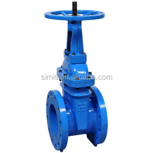 FM UL approved 175psi 300psi non rising stem flanged gate valve for fire valves