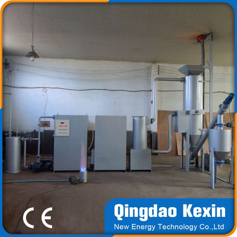 china manufacturer small gasifier biomass gasifier power generation for furnace