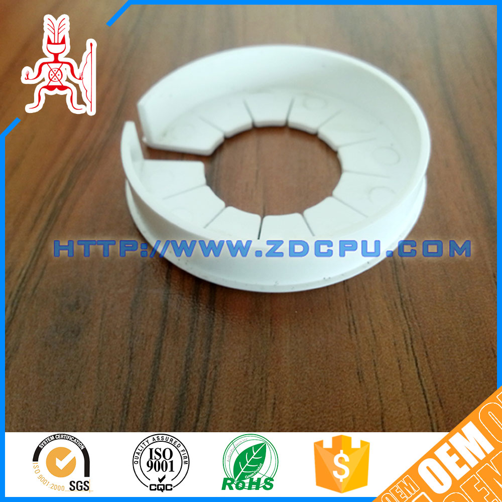 China low price eco-friendly flanged teflon plastic bushings