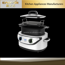 Newest digital Multi-Cooker CE/ROHS/EMC/LVD/ERP/DGCCRF 3-in-1 cooking system