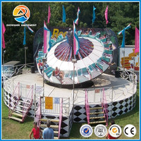 Fun fair rides of funny games amusement park attractive crazy dance ride for sale