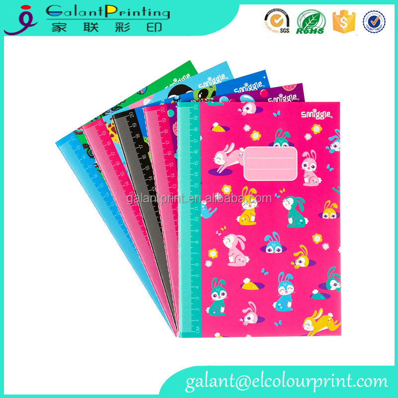 personalized stationary softcover a4 exercise book custom print manufacturer