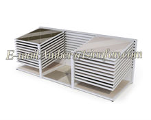 Tsianfan CX114 | Double Rows Marble Slab Display Rack