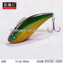 60mm 12.5g Hard Plastic Fishing Lure blade vibe lure