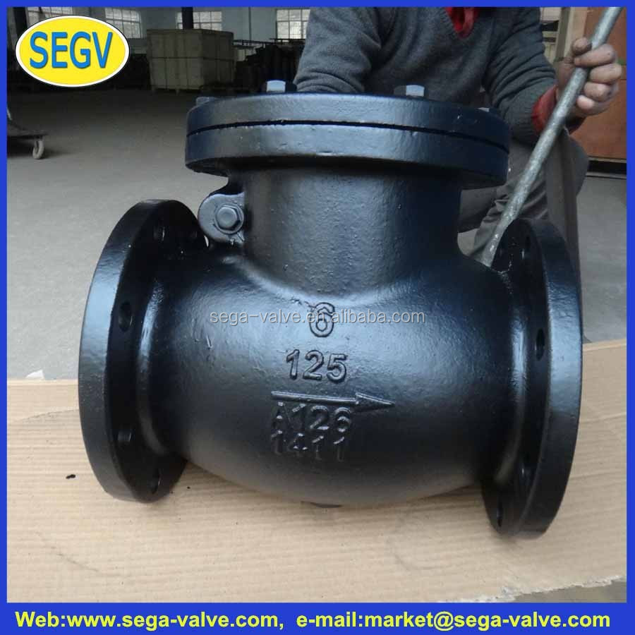 thermostatic valve floor heating Cast iron swing check valve