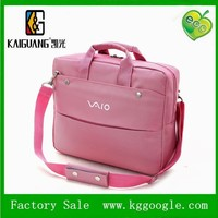 Especial design lady's pink laptop bag, laptop bags with handles