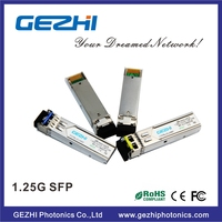 1.25G 1310nm SFP Optical Transceiver 20km DDM mini GBIC LC connector 100% compatible Finisar