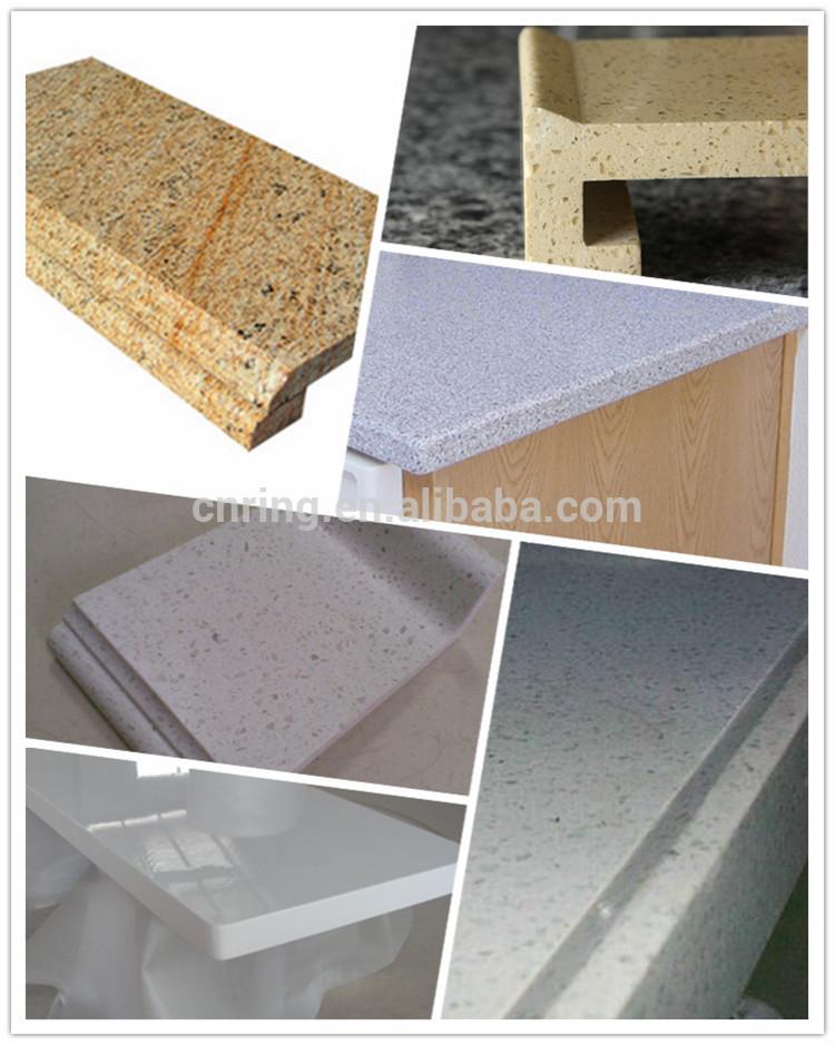 2015 melamine white kitchen cabinet simple design buy for Tempered glass countertop vs granite