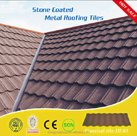 Dongyue High quality aluminum zinc plate colorful stone coated metal roofing tile/wholesale China stone coated steel roofing