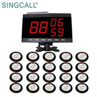 SINGCALL Restaurant Server Wireless Paging System for Calling Waiter