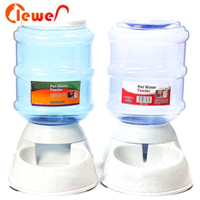 Promotional high quality dog durable plastic pet automatic feeder