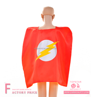 Halloween red witch cloak cape for dresses accept customized superhero costume