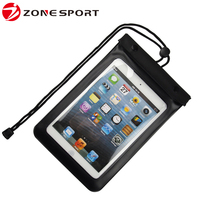2016 newly design underwater waterproof android tablet bag,pvc waterproof pouch for ipad mini