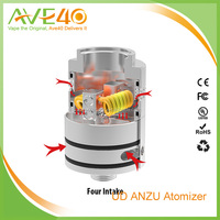 2016 Wholesale price Dia 22mm Anzu rda atomizer, Ud Anzu RDA Tank with Black, Silver rda atomizer