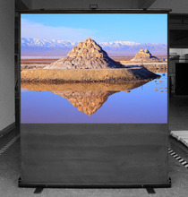 "Pull up Floor Stand 100"" 16:9 Projection Screen"