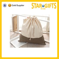 Wholesale Custom Cotton cloth bag storage organic cotton drawstring bags