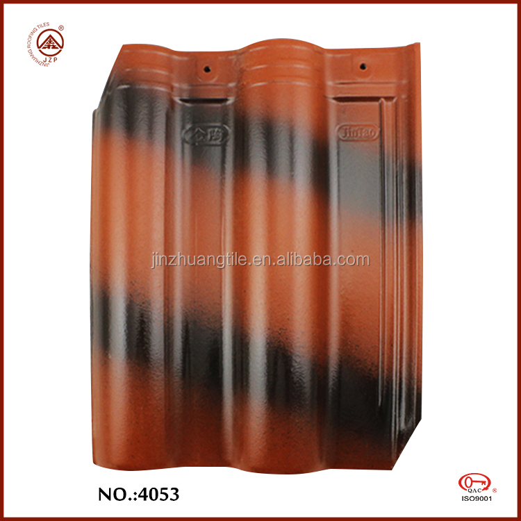 Hot sale top grade clay roof tile interlocking waterproof