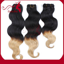 Carina Hair Products Two Color Beautiful Smooth Factory Price 100% Cheap Virgin Indian Wholesale Hair Extensions Los Angeles