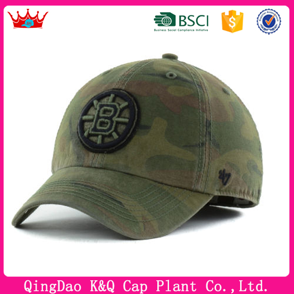 wholesale custom design military style baseball cap and hat