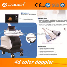 CE ISO approved 4D Color Doppler ultrasonic scanner Machine & Medical touch screen echo 4D machine
