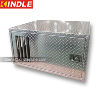 Heavy Duty Inside View Of Single Door Aluminum Dog Box