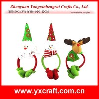 christmas decoration (ZY14Y498-1-2-3 22CM) Christmas santa snowman reindeer headband ear muff