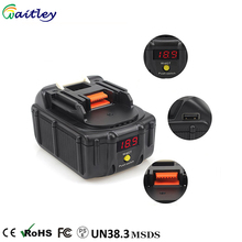 Factory wholesale Bl1850 18v 5ah lithium ion replacement battery pack for makita power tools 5000mah akku japan