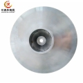 customized investment cast carbon steel waterglass casting for impeller