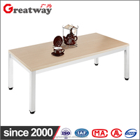 modern furniture china office coffee tea two layer wood cafe table muebles de for walmart