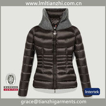 onorevoli <span class=keywords><strong>maglia</strong></span> collo corto brillante <span class=keywords><strong>cappotto</strong></span> giù