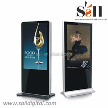 32Inch OEM Commercial Kiosk HD IR Touch LCD Ad