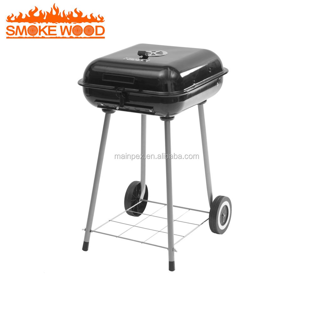 2017 Vente Chaude Simple En Acier Fenêtre Grill Design 5 Brûleur Et Côté Brûleur À Gaz Intérieure Barbecue à Gaz Grill